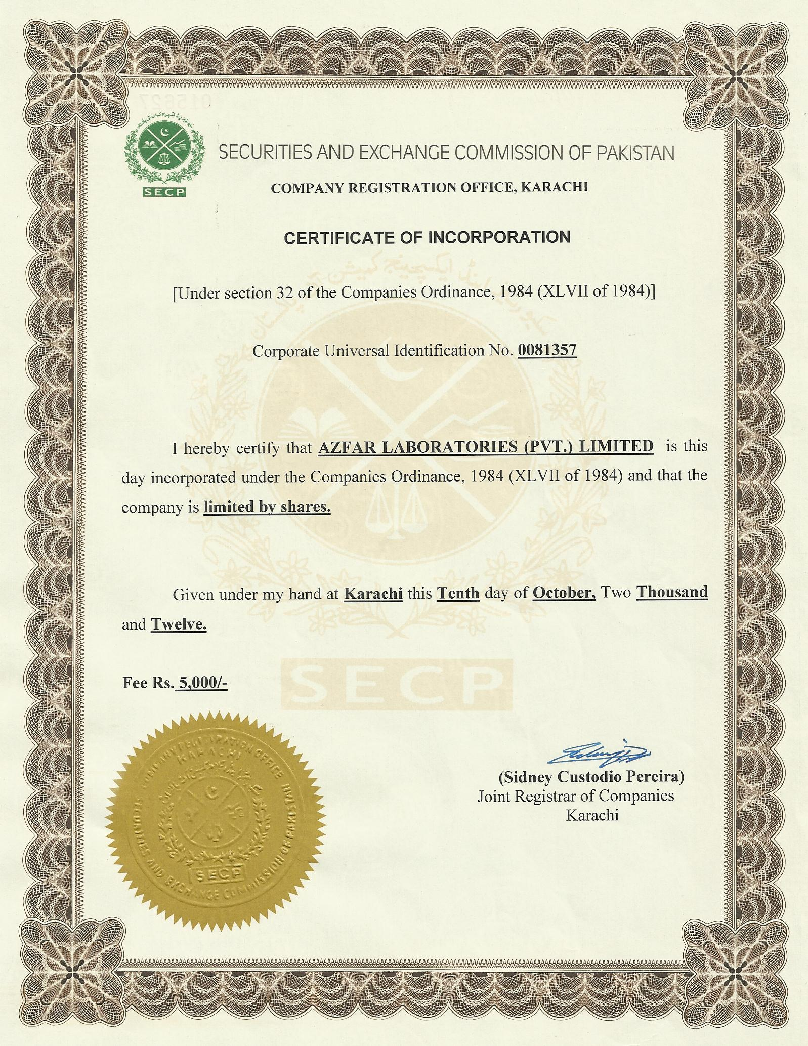 94b60664d21 Company Registration Process  Step No 3 (Submission of Documents and  Collection of Certificate)